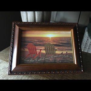 Woodgrain Jewelry/Music box - NWT